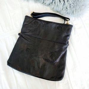 Tory Burch Bags - Tory Burch Fold over Chain Strap Messenger Bag